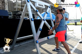 Elektroniczny bramkarz - batak, refleksomierz, piłkarskie atrakcje