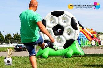 Bramka celnościowa piłka, piłkarskie atrakcje