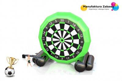 Piłkarski dart, foot dart, piłkarskie atrakcje